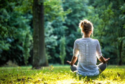 If you choose to use meditation, figure out what your purpose is. Is it stress relief? Is it religious? Find out your goals and make a little time each day to meditate.