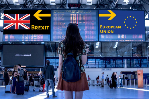 Brexit, Image by Thanks for your Like • donations welcome from Pixabay