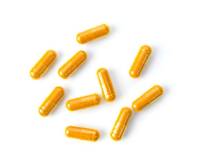 Many people choose to take turmeric in capsule form as a daily supplement to aid in their overall health.
