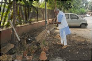 PM, Mr Modi - putting up an example for others