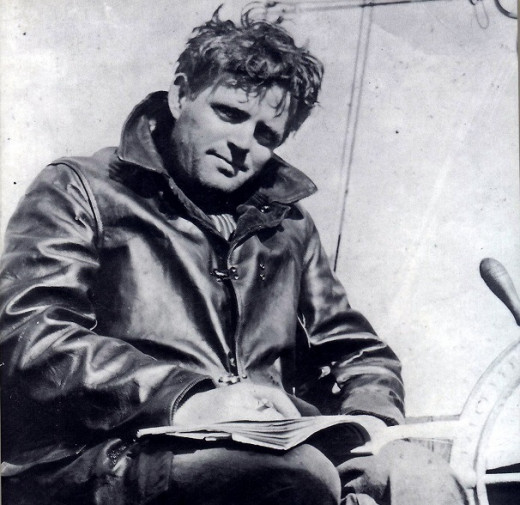 Jack London, contemporary of Curwood who shared his robust love of adventure