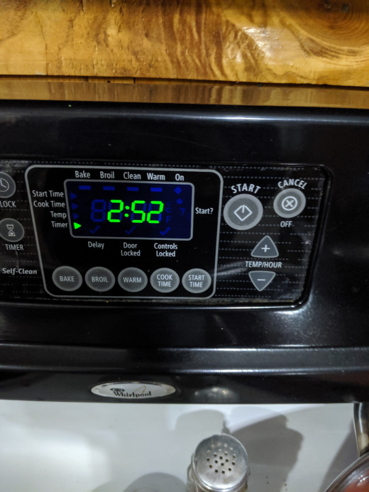 Oven timer is convenient