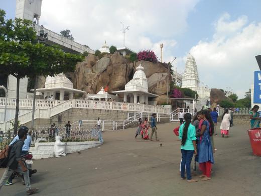 Birla Mandir is a famous Hindu Temple of white marbles