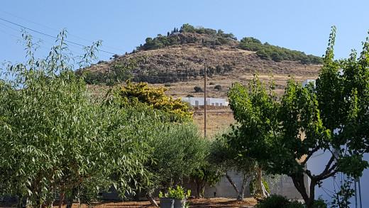 Agios Antonios atop the hill