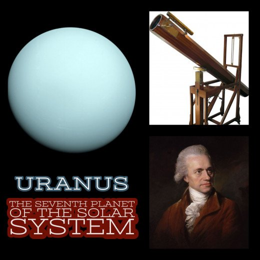 Uranus: The seventh planet of the solar system.