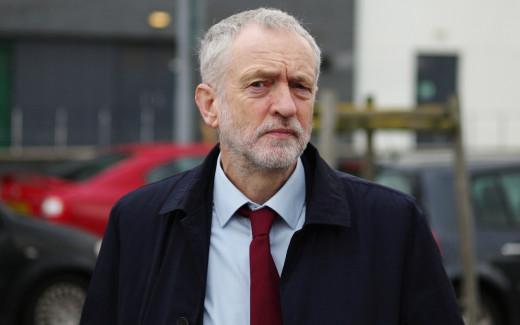 Outgoing Labour leader, Jeremy Corbyn.