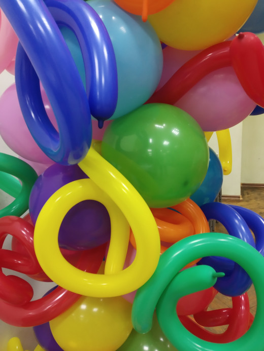 Balloons For Children's Birthday Party