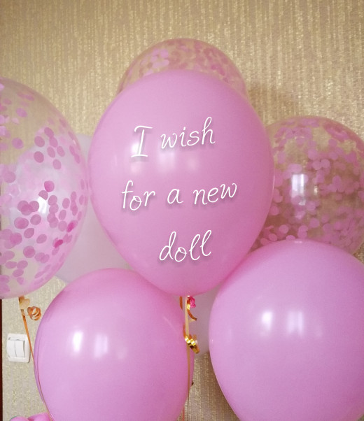 Balloons With Wishes For a Kids Party