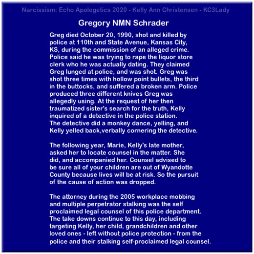 Gregory NMN Schrader's Death