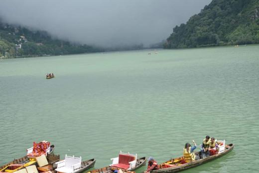 Boating In Naina Lake