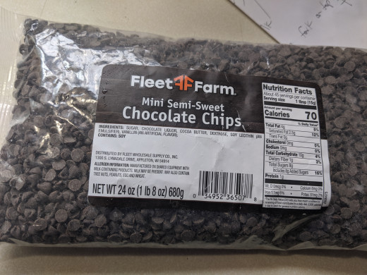 Mini chocolate chips