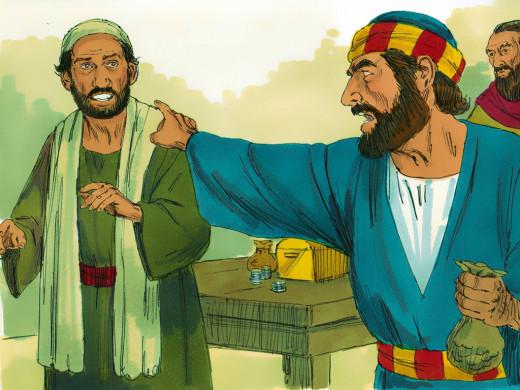 Ananias and Peter
