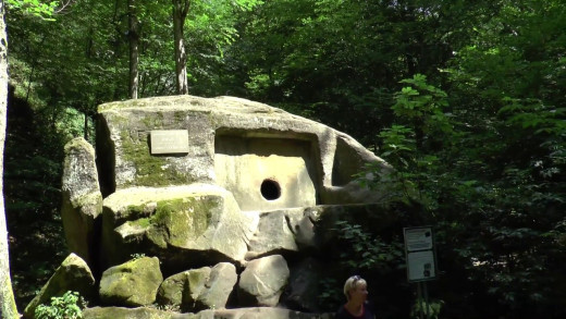 Ancient Dolmen Volkonsky Near Sochi