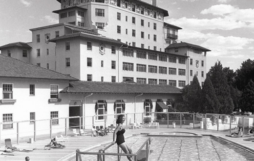 Broadmoor resort where Julie Cunningham stayed with a friend prior to her disappearance in 1975.