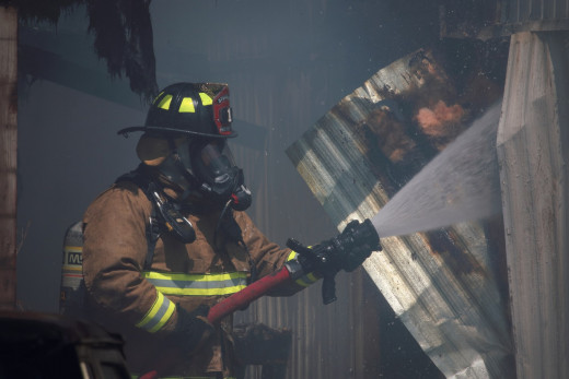 Many firefighters are volunteers.