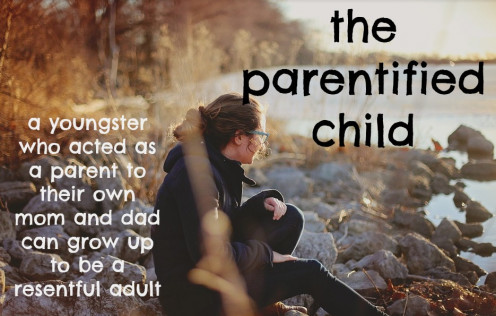 How a Parentified Child Can Grieve Their Lost Childhood & Become a Happy Adult