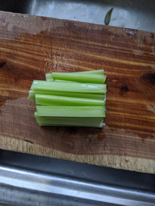 1 stalk celery