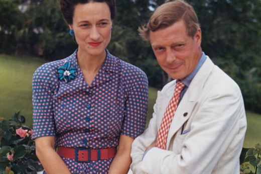 King Edward VIII and Ms. Simpson