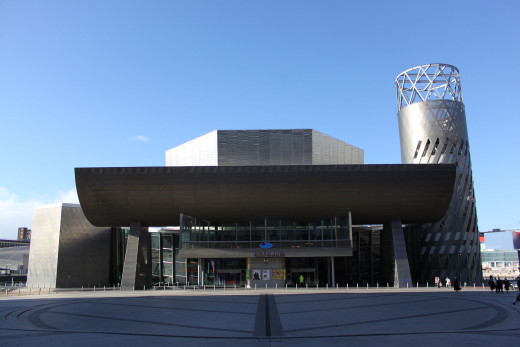 The Lowry main entrance
