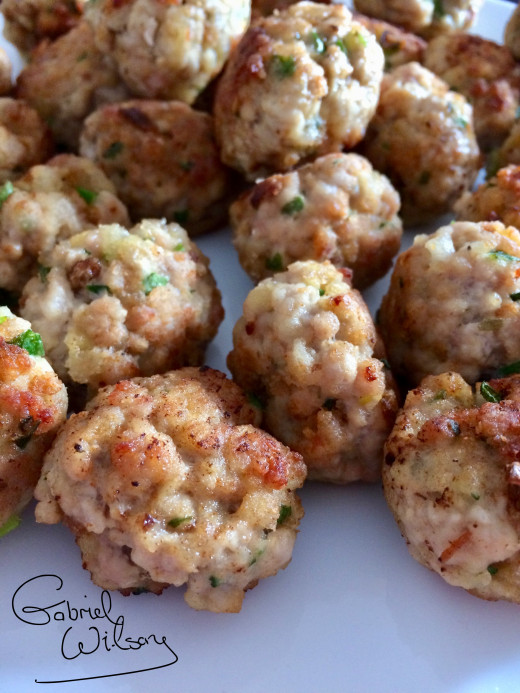 Homemade Sausage Meatballs