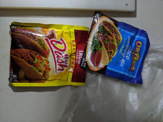 Taco seasoning packets