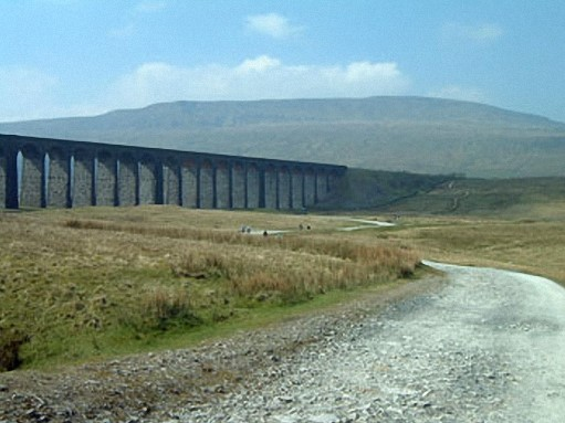 Whernside with Ribblehead Viaduct. Ingleborough is within sight near the olpposite - southern - end of this magnificent structure that was set for demolition until Transport Secretary Michael Portillo stepped in to secure a more realistic estimate