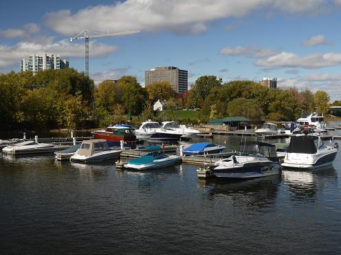Hull Marina, Jacques-Cartier Park.