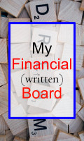 My (Written) Financial Vision Board