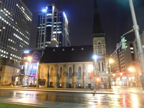 First Baptist Church, 140 Laurier Avenue West / Elgin Street, Ottawa