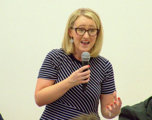 Labour leadership and Corbynista:  Rebecca Long-Bailey.