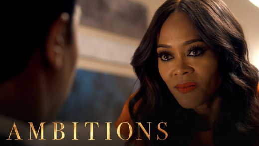 """Robin Given, star of the canceled show """"Ambitions"""""""