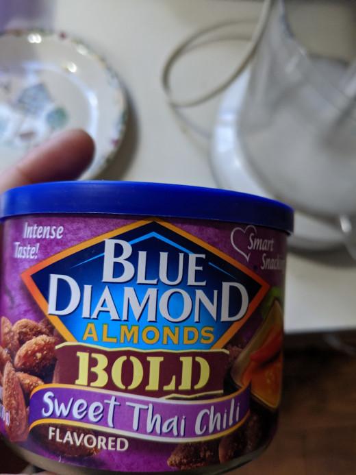 Thai Chili flavor almonds