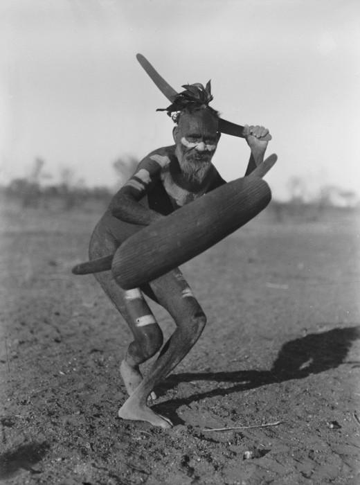 Native using a Boomerang
