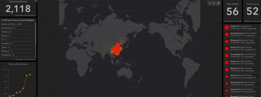 Wuhan global spread