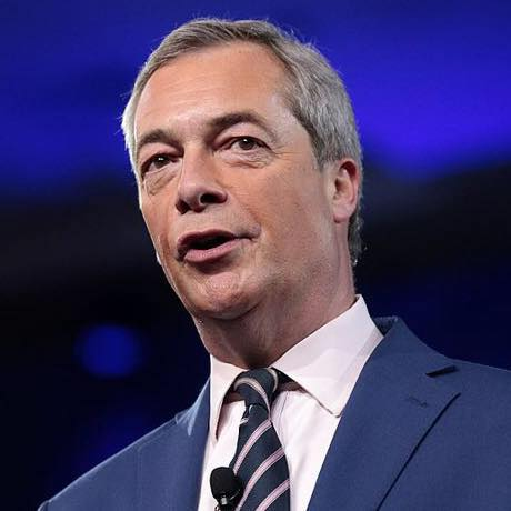 Nigel Farage:  Possible party in the park over Brexit.