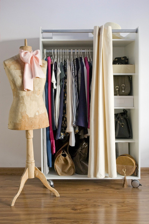 A capsule wardrobe requires a bit of planning to decide what pieces you want to include.