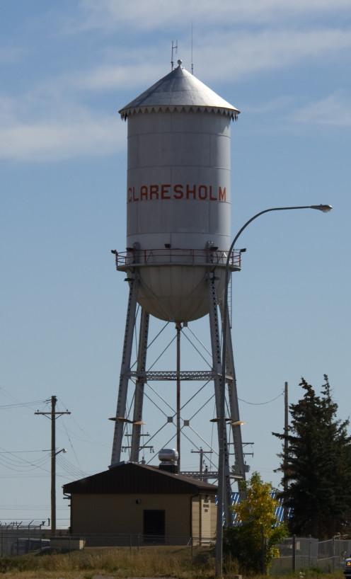 Claresholm Water Tower