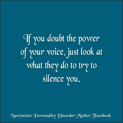 If you doubt the power of your voice, just look at what they do to try to silence you. - KC3