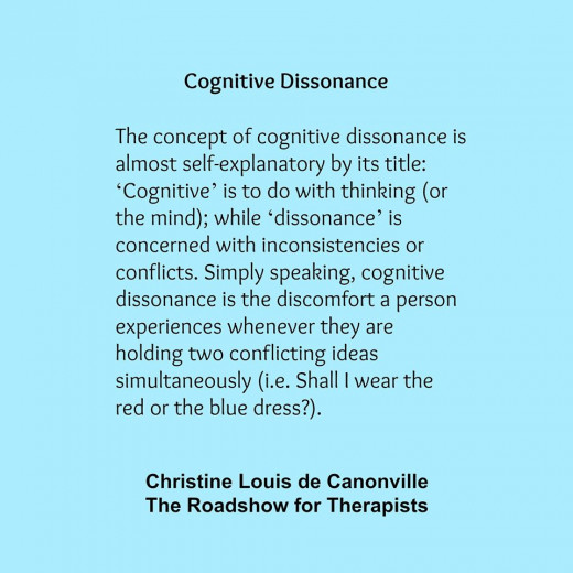 Cognitive Dissonance - We have promoted Christine on our pages for years, where is would often stop by.
