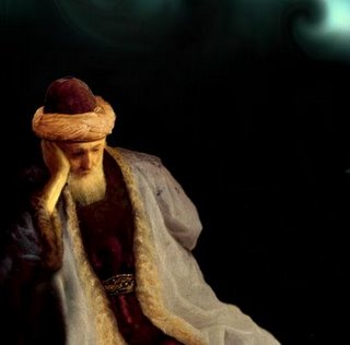 Rumi in thoughts!