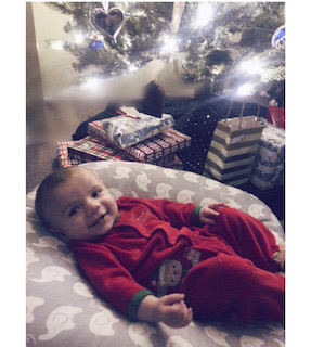 Baby Lou, the best present under the tree