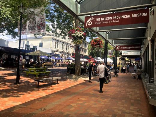 Nelson City centre