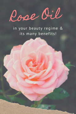 Rose Oil with Your Beauty Routine
