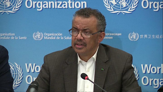 On January 30, 2020, the 2019-nCoV outbreak was declared a global health emergency by WHO director general Tedros Adhanom