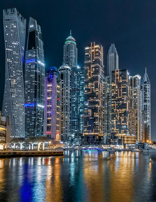Towers at the Dubai Marina