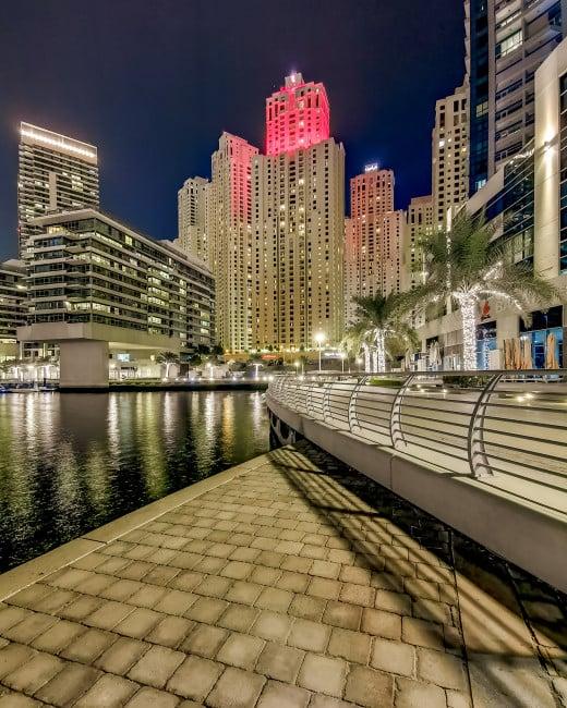 Jumeirah Beach Residence and Dubai Marina