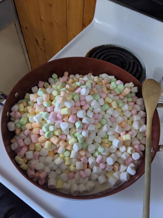 Add marshmallows