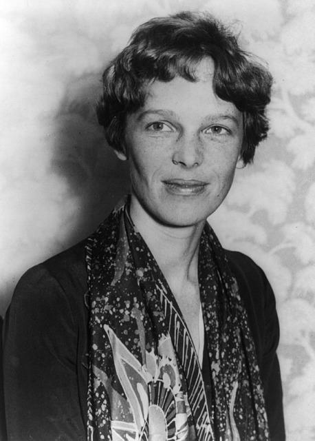 Amelia Earhart, an inspiring American aviation pioneer.