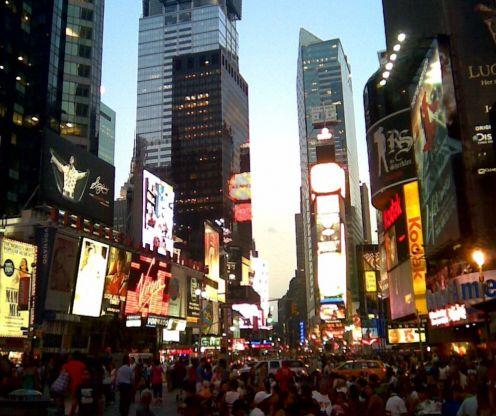 Times Square / E. A. Wright 2009