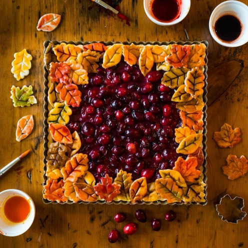 Desserts need not be fancy . . . but they are more fun if they reflect whatever we adore most about the season, or harmonize with our ideals!
